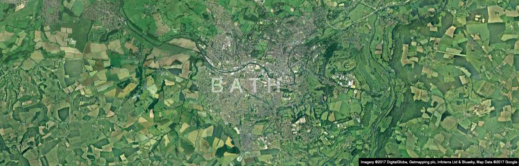 Bath Aerial View